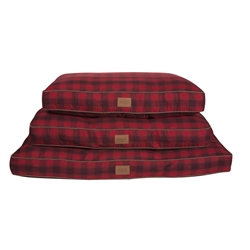 Red Ombre Plaid Pet Napper