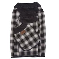 Charcoal Ombre Dog Coat