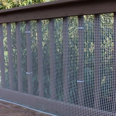 15' Roll - Heavy-Duty Outdoor Deck Netting