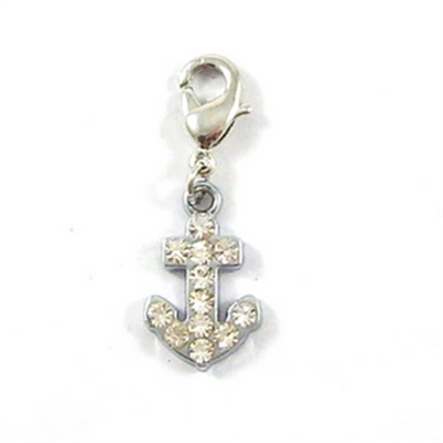 Anchor D-Ring Charm - Nickel/Lead Free
