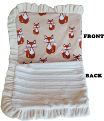 Luxurious Plush Pet Blanket Foxy