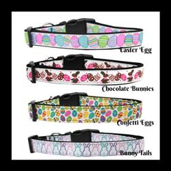 Easter Collection Nylon Dog Collar