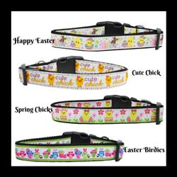 Easter Collection Nylon Dog Collar