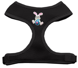 Easter Bunny Chipper Black Harness