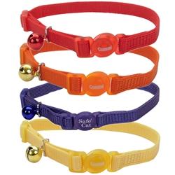 Safe Cat® Adjustable Snag-Proof Nylon Breakaway Collar
