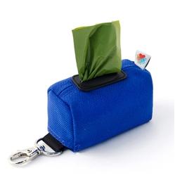 Royal Blue No-Dangle Poop Bag Dispenser