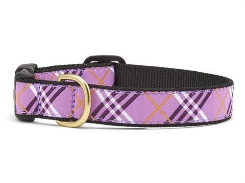 Lavender Lattice Dog Collar Collection