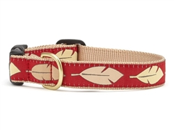 Feathers Dog Collar Collection