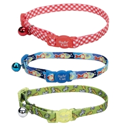 Safe Cat® Fashion Adjustable Breakaway Collar