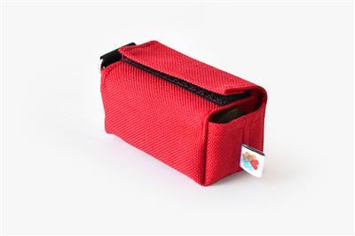 Red No-Dangle Poop Bag Dispenser