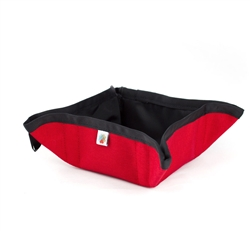 Red Pocket Sized To-Go Bowl