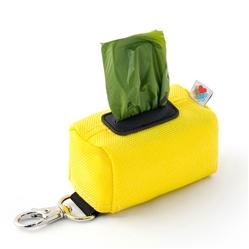 Yellow No-Dangle Poop Bag Dispenser