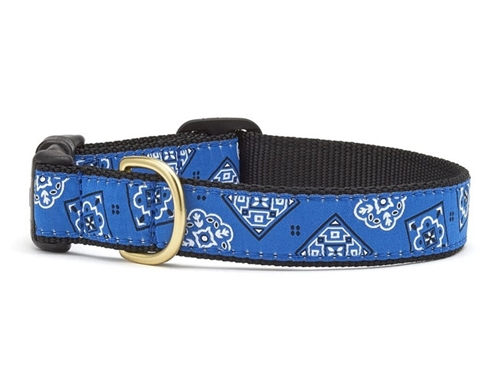 Blue Bandana Dog Collar Collection