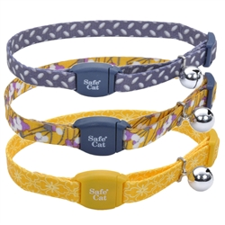 Safe Cat® Adjustable Breakaway Collar with Magnetic Buckle