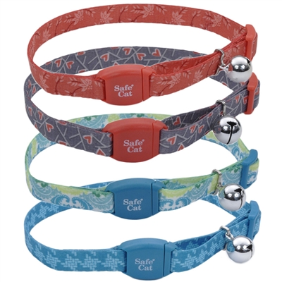Safe Cat® Adjustable Breakaway Collar with Magnetic Buckle