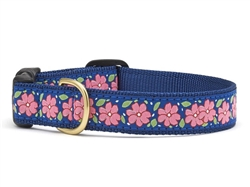 Pink Garden Dog Collar Collection