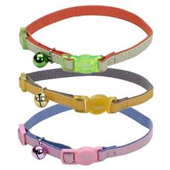 Suede Safe Cat® Designer Adjustable Breakaway Collar
