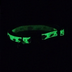 Safe Cat® Glow in the Dark Adjustable Breakaway Collar