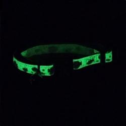 Safe Cat® Glow in the Dark Adjustable Breakaway Collar