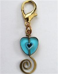 Edwardian Heart Collar Charm