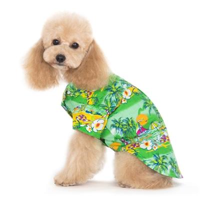 Tropical Island Shirt Green