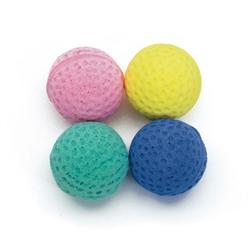 """1.5"""" Sponge Balls - Rascals® Assorted Balls Cat Toys - 4 pk"""