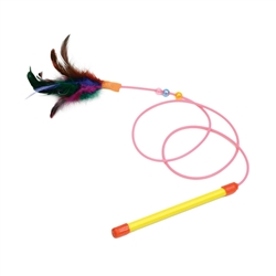 "17"" Interactive Wand - Rascals® Wand Cat Toys"