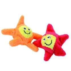 "2.75"" Bouncy Stars - Turbo™ Bouncing Cat Toys - 2 pk"