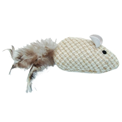 """3.75"""" Mouse - Turbo™ Natural Cat Toys"""