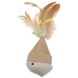 """7"""" Fish - Turbo™ Natural Currgated Cat Toys"""