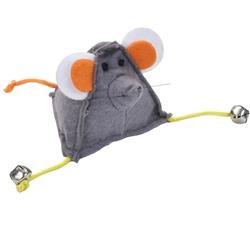 "3.25"" Triangle Felt Mouse - Turbo™ Random Fun Cat Toys"