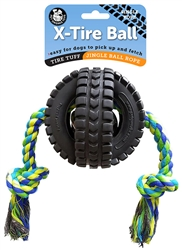 Large Jingle X-Tire with Single Rope