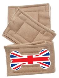 Peter Pads British Bone Flag 3 Pack