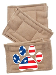 PatrioticPeter Pads Paw Flag 3 Pack