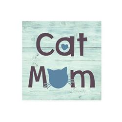 Cat MOM - Wood Pallet Magnet