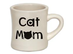 Cat Mom - Coffee Mug