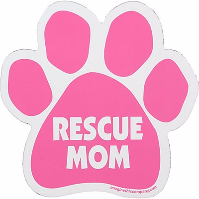 Rescue Mom Car Window Decals - 2 Per Package