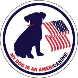 AmeriCanine Puppy - Car Window Decals - 2 Per Package