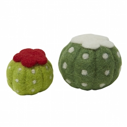 Cactus Wool Toy Ball - 3""