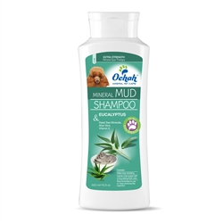 Flea & Tick - Mineral Mud Shampoo with Eucalyptus, Dead Sea Minerals, Aloe Vera & Vitamin E - 16.9oz Retail Bottle