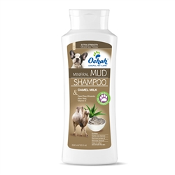 Deep Hydrate - Mineral Mud Shampoo with Camel Milk, Dead Sea Minerals, Aloe Vera & Vitamin E - 16.9oz Retail Bottle