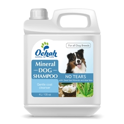 For Puppies - Mineral Dog Shampoo - No Tears - with Dead Sea Minerals & Aloe Vera - Gallon Jugs for Groomers
