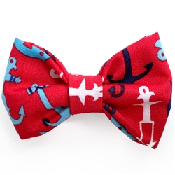 Red Anchors Bowties
