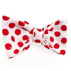 Red Polka Dots Bowties