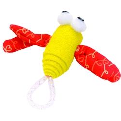 """Bergan 4"""" Dragonfly - Turbo™ Foam Fun Cat Toys"""