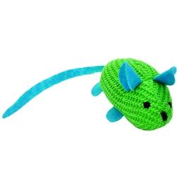 "Bergan 7.75"" Jingle Mouse - Turbo™ Random Fun Cat Toys"