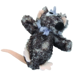 "Bergan 5.5"" Catnip Belly Mouse - Turbo™ Catnip Belly Critters Cat Toys"