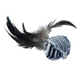 "Bergan 5"" Feather Ball - Turbo™ Random Fun Cat Toys"