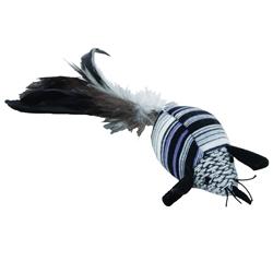 "Bergan 5.75"" Feather Mouse - Turbo™ Random Fun Cat Toys"