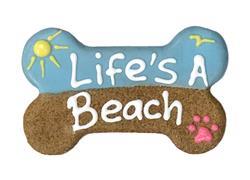 "6 inch ""Life's a Beach"" Bone Bulk"